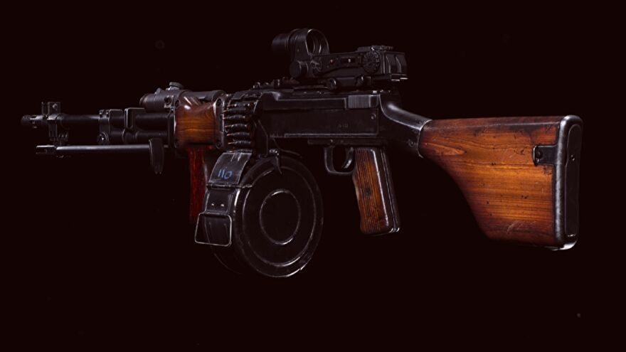 The RPD LMG in Call of Duty: Warzone