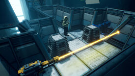Image for Lab Rat is a block-pushing puzzler that looks like Portal, but doesn't act like it