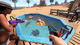 Image for Rust's next DLC pack adds pools, tubes, and water guns