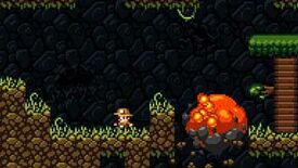 Image for Snake To Death: The Majesty Of Spelunky