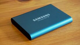 Image for Samsung's 1TB T5 SSD is down to £90, a historic low price