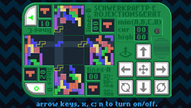 Image for Schwerkraftprojektionsgerät is Increpare's fiendish four-way take on Tetris