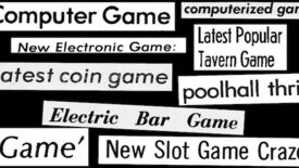 "Image for Video Game History Foundation explores early names for ""video games"""