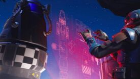 Image for Fortnite cracks the sky with gigantic rocket; probably not good