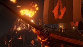 Image for Sea Of Thieves's Forsaken Shores update adds volcanoes, rowboats and legal commerce