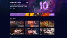 Image for GOG celebrates its tenth anniversary with a makeover, sale and giveaway to vote on