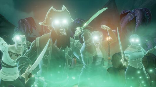 Image for Sea Of Thieves' A Pirate's Life expansion does feature lots of things that aren't Johnny Depp