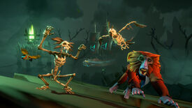 Image for Sea Of Thieves goes overboard with skeletons in this month's Fort Of The Damned update