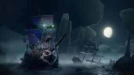 Image for Sea Of Thieves's skellington-crewed Cursed Sails update is live