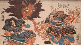 Image for The Japanese myths and woodblock art behind Sekiro's creatures