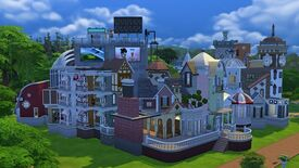 Image for This Sims 4 mystery house is almost certainly haunted
