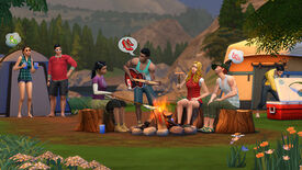 Image for The Sims 4 Going On An Outdoor Retreat