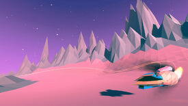Image for Smugglecraft is a colourful racer about debt and deliveries