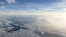 Image for The Earth freezes over in the latest Microsoft Flight Simulator trailer