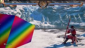 Image for A giant rainbow cube is terrifying Soulcalibur VI players