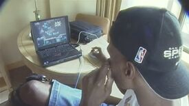 Image for Watch the 1999 San Antonio Spurs dorking about in StarCraft