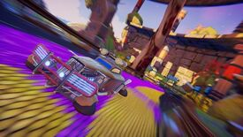 Image for Wipeout meets Splatoon in weird sci-fi racer Trailblazers