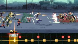 Image for Double Kick Heroes headbangs its way into early access