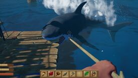 Image for Sea survival sim sandbox Raft sets sail for Steam in May