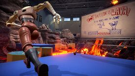Image for First-person platformer Hot Lava launches - bring a pal