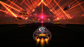 Image for Neon laser jet-car racer Distance launches out of early access