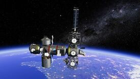 Image for Space station sim Stable Orbit is out today