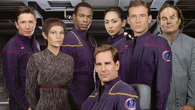 The crew of Star Trek: Enterprise.