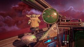 Image for Baby Yoda is coming to your Star Wars: Squadrons dashboard