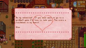 Image for This cute Stardew Valley mod adds Valentine letters from villagers
