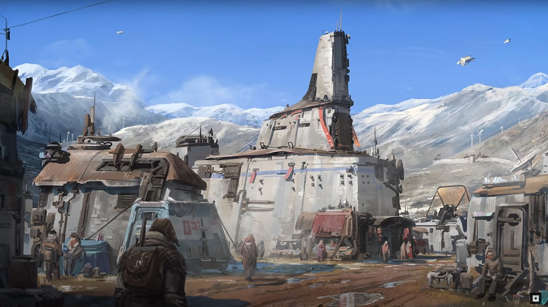 Starfield has begun to introduce the science fiction cities it will take you to