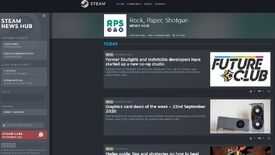 Image for Steam News Hub shows posts from your favourite quirky PC gaming websites now