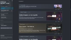 Image for The Steam News Hub now officially rounds up news and patch notes for what you're playing