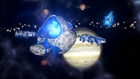 Image for Stellaris's newest species, the Lithoids, are here to eat rocks and take names