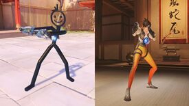 Image for Why didn't Overwatch get this derpy stick-figure skin for Tracer