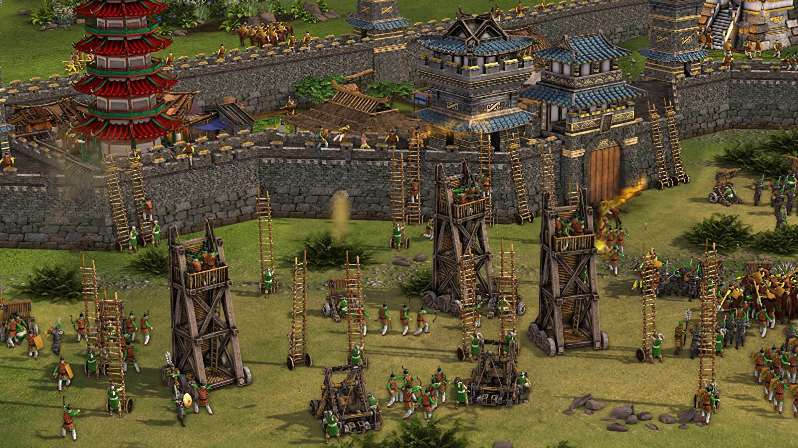 Stronghold Warlords is out now