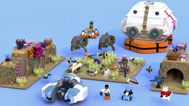 Image for Clickuorice Allsorts: Cute Subnautica Lego pitches