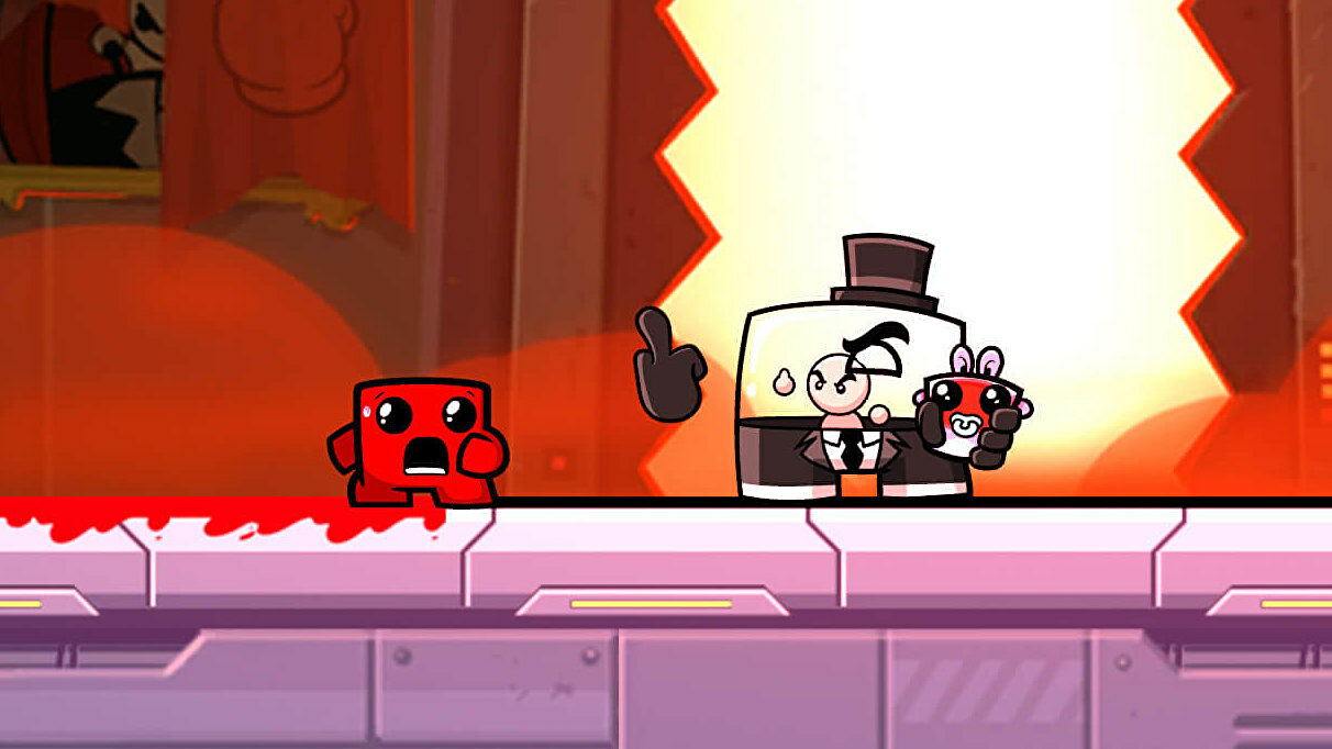 Super Meat Boy Forever is out now   Rock Paper Shotgun