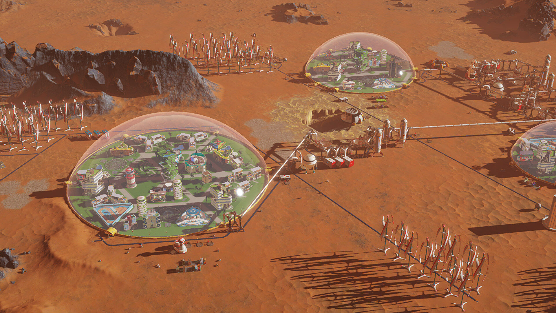 Surviving Mars updates and DLC to continue with a new developer - Rock Paper Shotgun