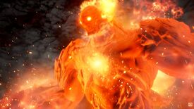 Image for Tales Of Arise looks gorgeous, has a big flaming stompy thing in it