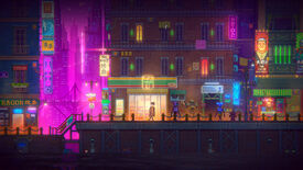 Image for Tales Of The Neon Sea is a cyberpunk detect 'em up with a cat