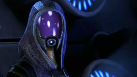 Tali'Zorah in Mass Effect 3.