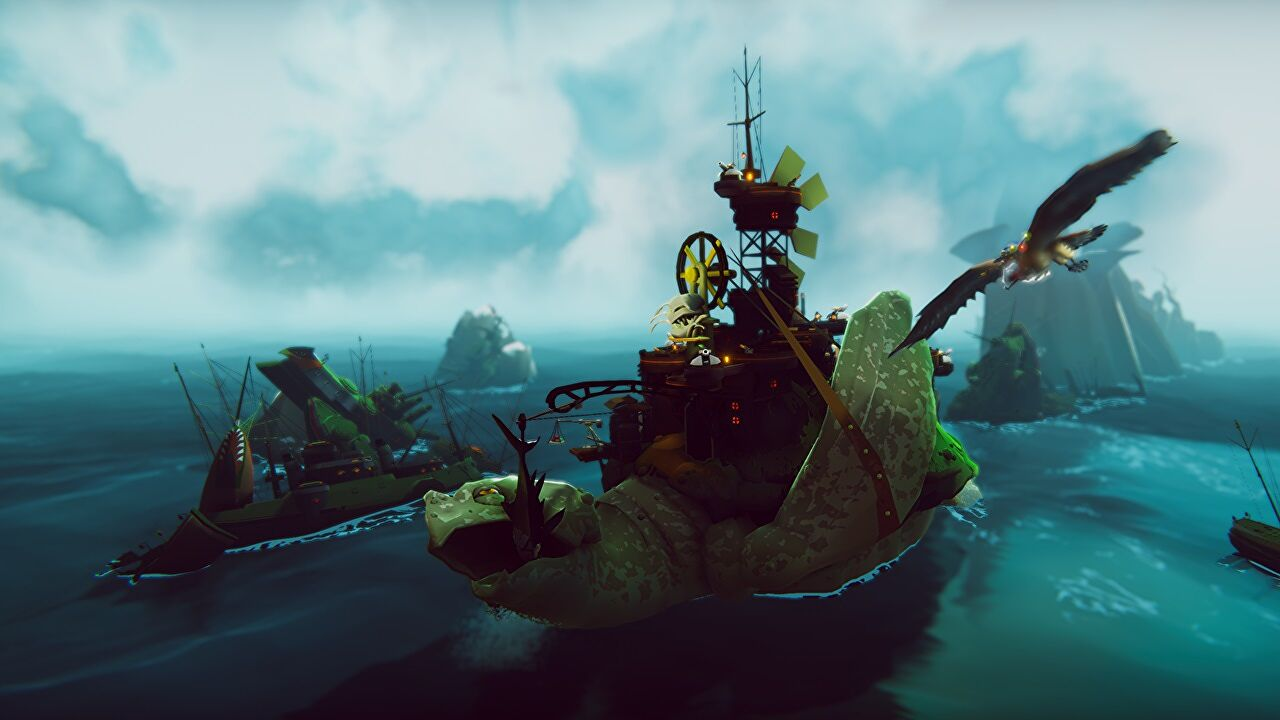 The Falconeer just let loose a free DLC that lets you be a proper pirate
