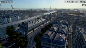 A screenshot of a digital recreation of Paris, built inside the city management game The Architect: Paris.