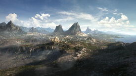 The unknown land of The Elder Scrolls VI in a frame from the 2018 teaser trailer.