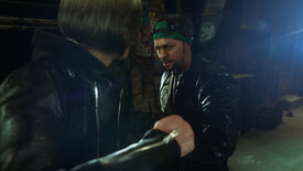 Image for Squeenix's weird FMV brawler The Quiet Man out in November
