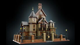 A photo of The Room 4's dollhouse in Lego