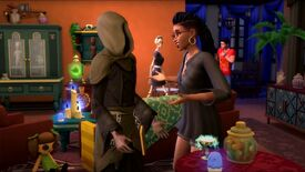 Image for Fan favourite Bonehilda returns in The Sims 4 Paranormal Stuff pack