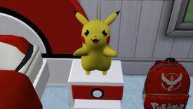 Image for Love this tiny Pikachu with an amazing Sims 4 pokémon mod