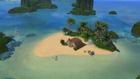 Image for I made an isolated island hermitage in The Sims 4 but it is a complete coincidence