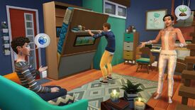 Image for The Sims 4 Tiny Living pack will force you to build a house with only 100 tiles